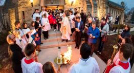 Holy Week Schedule at St. Mark's