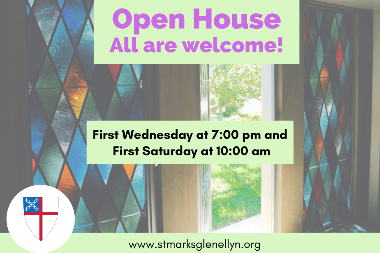Open House on Wednesday, June 2 at 7:00 pm and Saturday, June 5 at 10:00 am