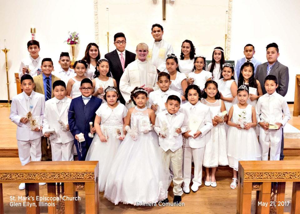 first communion st mark s episcopal church